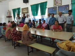 GIITian at OLD AGE Home