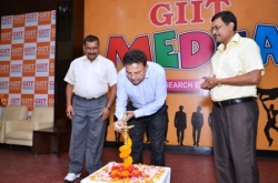 Lighting lamp by Guest of Honour Mr. Subhenjit Choudhary