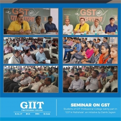 STUDENTS PARTICIPATING IN GST WORKSHOP