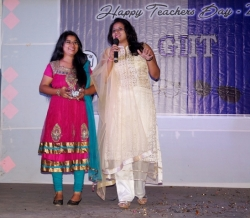 Khyati Adeshra & Sonal Ben Patel Performing in Teacher's Day
