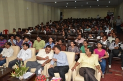 Audience at MEDHA Prize distribution ceremony