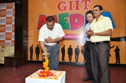 Lighting Lamp by Cheif Guest Mr. Nagendra Thakur, Regional Deputy Director of Education, Kolhan