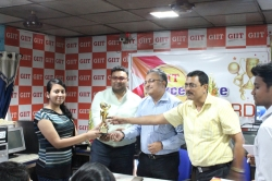 ACADEMIC EXCELLENCE AWARD JUNE 2018, MR. SUVENJIT CHOUDHARY, MD, TATA PIGMENT AS A KEY PERSON