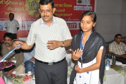 PRATIBHA SAMMELAN BY PRABHAT KHABAR IN THE YEAR 2015